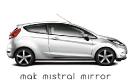 Mak Mistral Mirror su Fiesta Bianco Frozen
