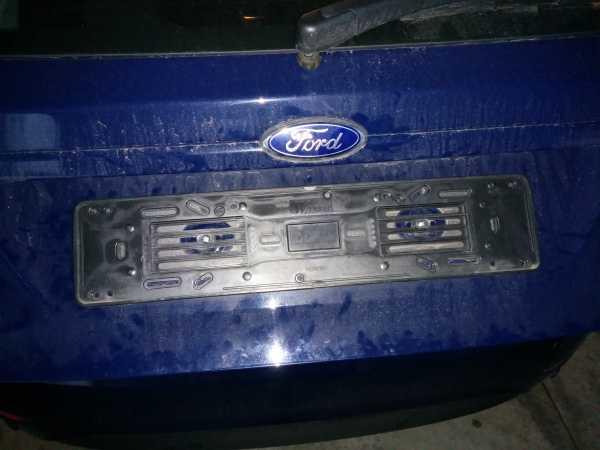 Lampadina Luci Targa : Ford fiesta italia discussione guida montaggio luci targa